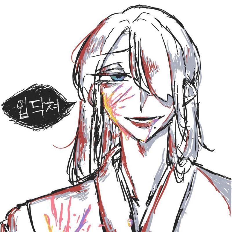 카스 댓그.. : 카스 댓그림 그렸는데 짱힘들다 손가락 부러질 듯 스케치판 ,sketchpan