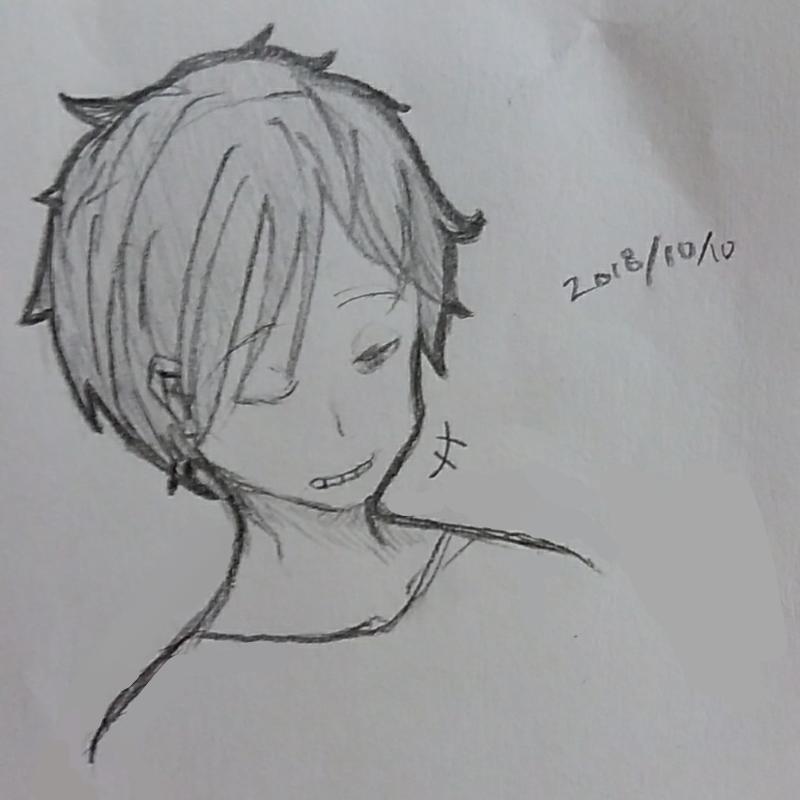 학교에서의.. : 학교에서의 낙서 스케치판 ,sketchpan
