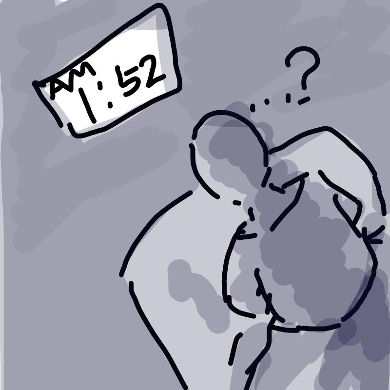 왜 나 지금.. : 왜 나 지금 일어났지?ㄷㄷ 스케치판 ,sketchpan
