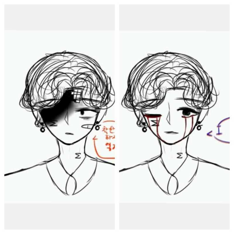 낛..표정연.. : 낛..표정연습 채ㅣ고 스케치판 ,sketchpan