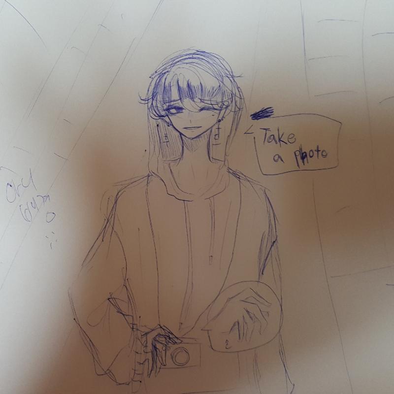 아잉 누구.. : 아잉 누구게요 스케치판 ,sketchpan