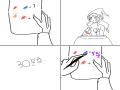 삘강+파랑=? : 삘강+파랑=? 스케치판 ,sketchpan