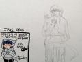 흠뮹...? .. : 흠뮹...? 종이 질이 왜이래 스케치판 ,sketchpan