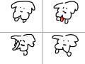 강아지 : 느헤헿헿 스케치판 ,sketchpan