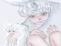 눈 좌우대.. : 눈 좌우대칭 안맞는거 거슬림 스케치판 ,sketchpan