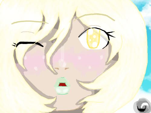 Lilia : .... cutez 스케치판 ,sketchpan