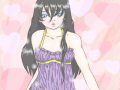 Myia~ Cute : This is cute color that I had modeled after one of my sketches, Myia. I colored it.Myia is one of few characters that I can draw over and other again with out problems. 스케치판 ,sketchpan