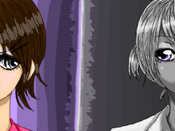 Color vs Gray Scale : one is in color and the other is in gray scale. , 스케치판,sketchpan,NexRemeo