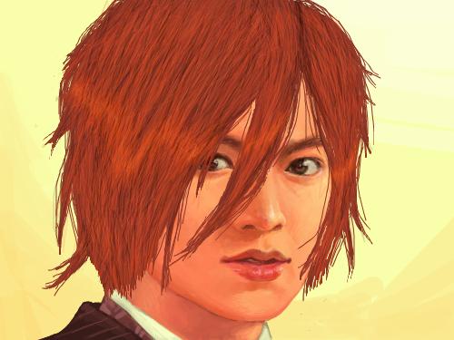 Teen Boy : wooot.... I fixed his hair. XD. 스케치판 ,sketchpan