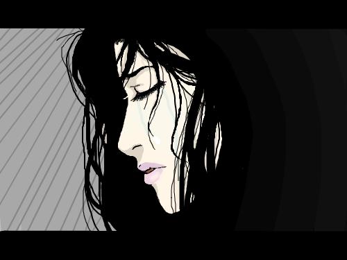 Tears Wishing For Love : .... its sad 스케치판 ,sketchpan
