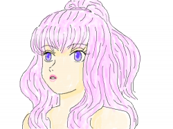 Girl With Pink Hair : cute... , 스케치판,sketchpan,NexRemeo