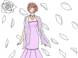 Rose : Started to color it... , 스케치판,sketchpan,NexRemeo