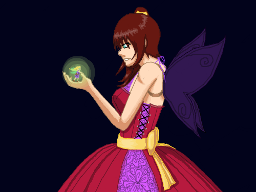 Litle Fairy Shade : Shaded it. XP 스케치판 ,sketchpan