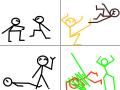바이맨VS브이맨 : 승자는??????????? 스케치판 ,sketchpan