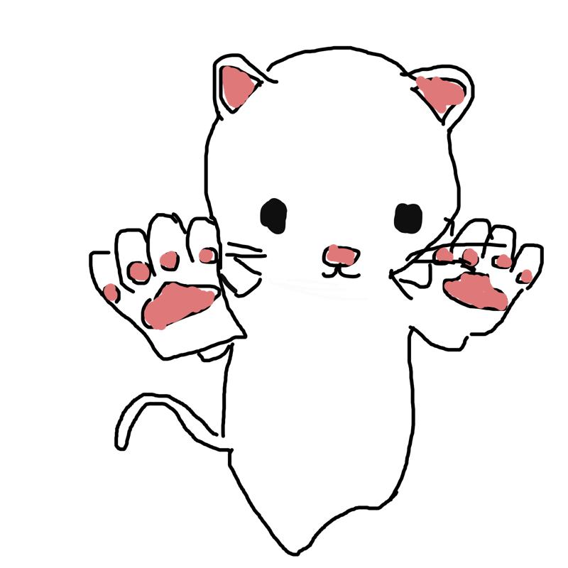 미오캣 : 미오캣 스케치판 ,sketchpan