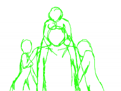 Sketch : I want you to finish this. you can just do the outline or the whole thing but the figures must stay. Please and thank you. Have fun. , 스케치판,sketchpan,NexRemeo
