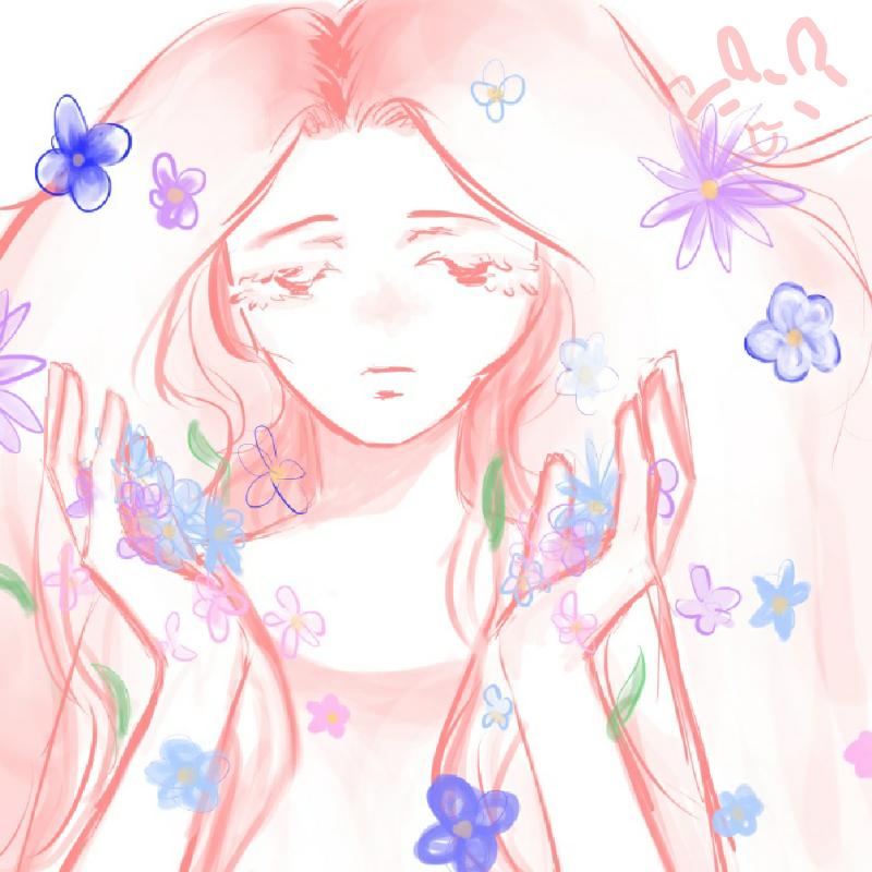 꽃 가득 : 꽃 가득 스케치판 ,sketchpan