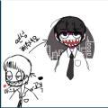 마사볶음면.. : 마사볶음면님이 그려주셨어요!!시크한 캐릭터와 멋진 배경 감사해요!! 스케치판 ,sketchpan