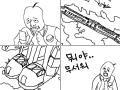 다간 : 전설의 용사 다간!! 스케치판 ,sketchpan