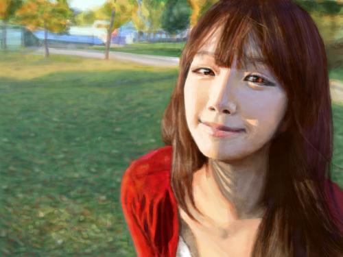 얼짱 : 잉여왕♡ 스케치판 ,sketchpan