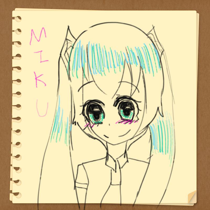 하츠네미.. : 하츠네미쿠 스케치판 ,sketchpan