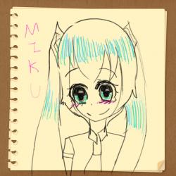 하츠네미.. : 하츠네미쿠 , 스케치판,sketchpan,soyul