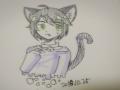강정냥님 .. : 강정냥님 고양이 남자캐릭터 스케치판,sketchpan