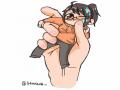 손가락!! .. : 손가락!! 얼굴 지우 스케치판,sketchpan