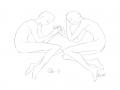 친구 오늘 : 친구 오늘 스케치판,sketchpan