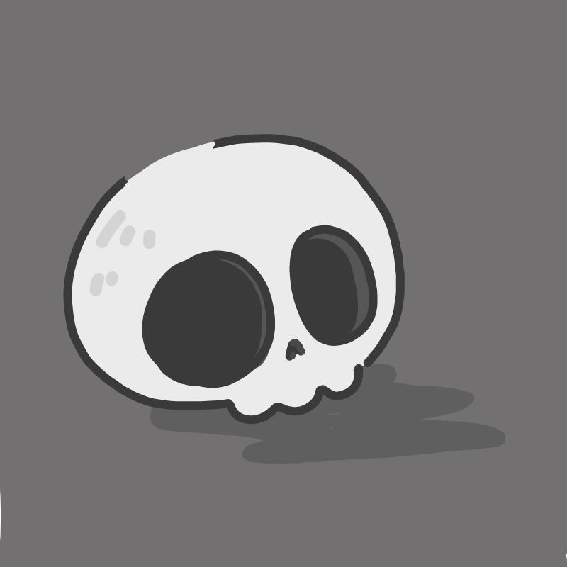 그 해골의 .. : 그 해골의 주인은 대체 누구일까? 스케치판 ,sketchpan
