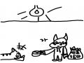 고양이 사.. : 고양이 사료 스케치판,sketchpan