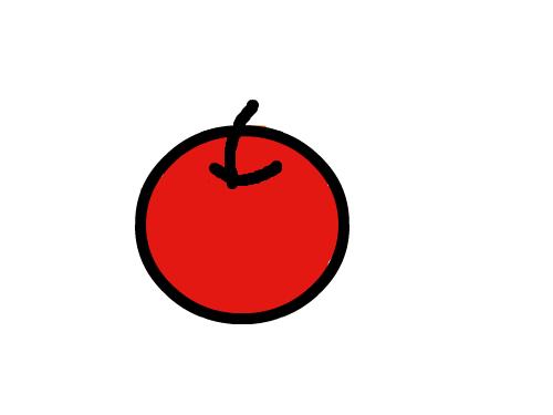 사과 : 모르겟음 스케치판 ,sketchpan