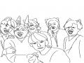 블소문파원.. : 블소문파원들그림 스케치판 ,sketchpan
