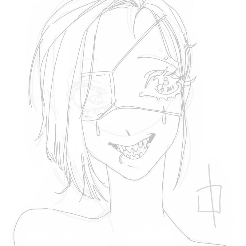 피곤 : 피곤 스케치판 ,sketchpan