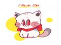 예전 오너.. : 예전 오너캐 고양이화 했던 그림 스케치판,sketchpan