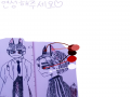 원본,글자,.. : 원본,글자,색 다지우시고 그리셔도 되요! 화질깨지길래 그림을 크게 넣을수밖에...ㅠ독서실에서심심해서 만든 캐릭턴데 여우 늑대 혼합 대우 쌤!만년피곤,아기들 좋아하고 초콜릿중독!사복은추리닝선호!이쁜연성 부탁합니다♡ 스케치판 ,sketchpan
