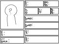 자캐소개서 : 모든것을 레이어1에 그렸습니다. 스케치판 ,sketchpan