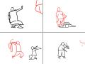 FIGHT : 배틀 싸움 호신술 스케치판 ,sketchpan