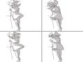펄럭펄럭 : 펄럭펄럭 스케치판 ,sketchpan