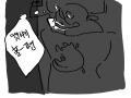 불편 : 불편 스케치판 ,sketchpan
