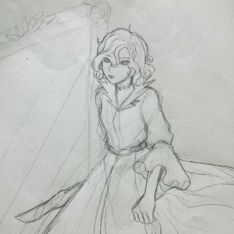 마리 : 마리 스케치판 ,sketchpan