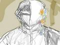 내 생각이 .. : 내 생각이 틀렷다고 생각하는 사람은 혀로 자신의 팔꿈치를 핥으시오  다들 동의하는군 스케치판,sketchpan