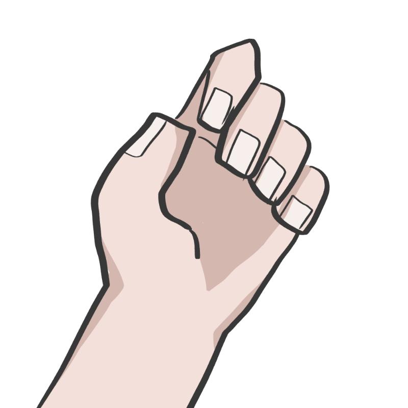 나는 손 네.. : 나는 손 네모로 그림 스케치판 ,sketchpan