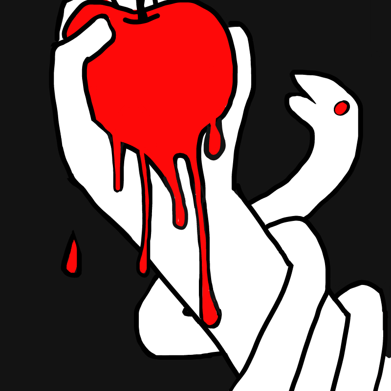 선악과 : 선악과 스케치판 ,sketchpan