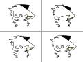 깜빡깜빡 : 간단한 깜빡깜ㅁ빡! 스케치판 ,sketchpan