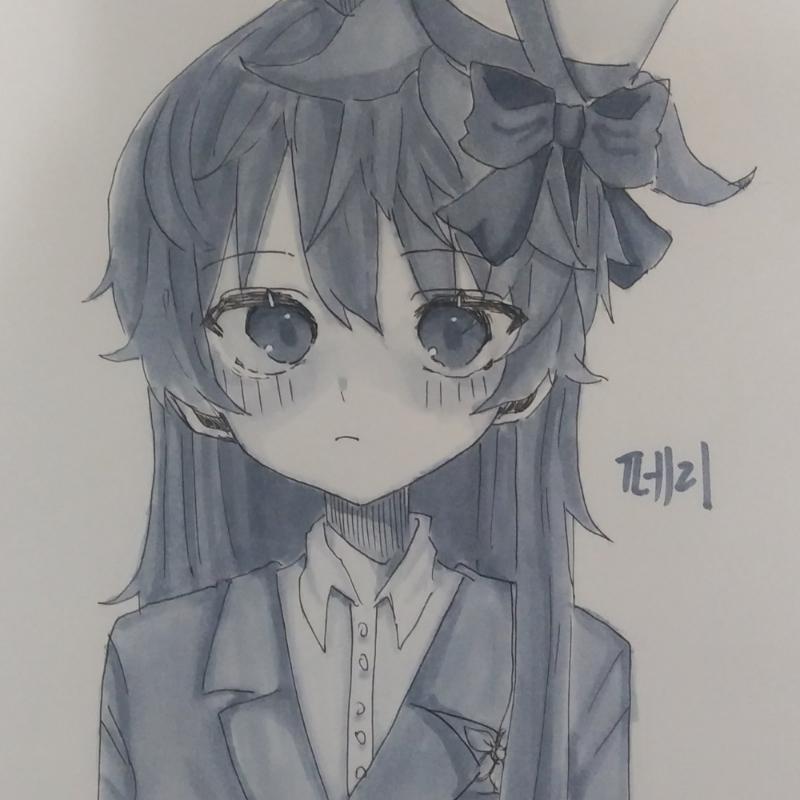 마카 연습.. : 마카 연습용 그림 스케치판 ,sketchpan