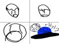 말 : 말 스케치판 ,sketchpan