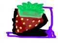 딸기 : 딸기 스케치판 ,sketchpan