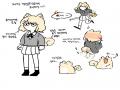 오너캐2p  .. : 오너캐2p  댕댕이 수인화 스케치판 ,sketchpan