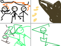 반칙달리기 : 네가이긴다!!!!!!!!!!!!!!!!!!!!!!!! 스케치판 ,sketchpan